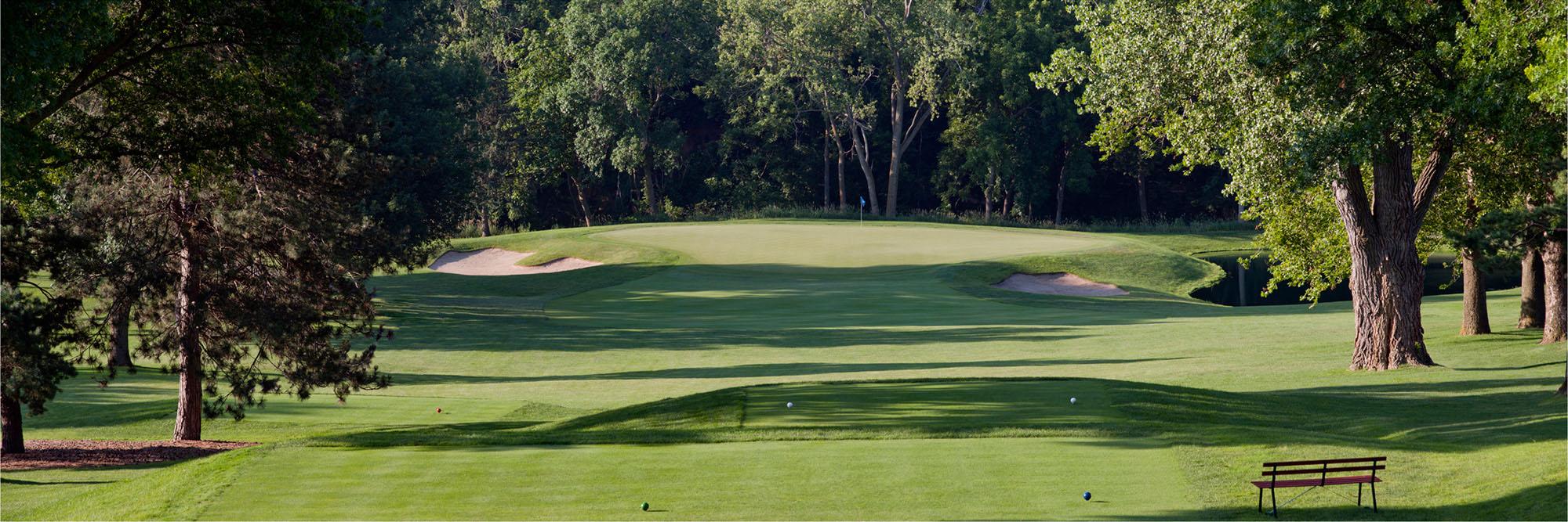 Golf Course Image - Happy Hollow No. 8