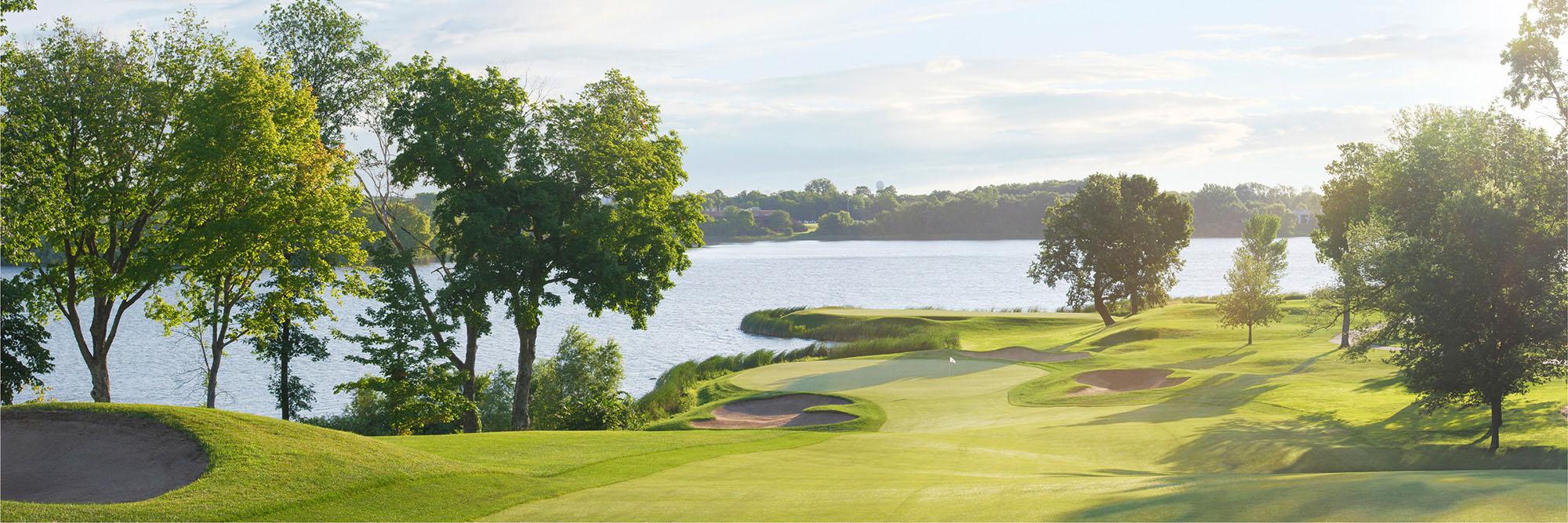 Golf Course Image - Hazeltine No. 10
