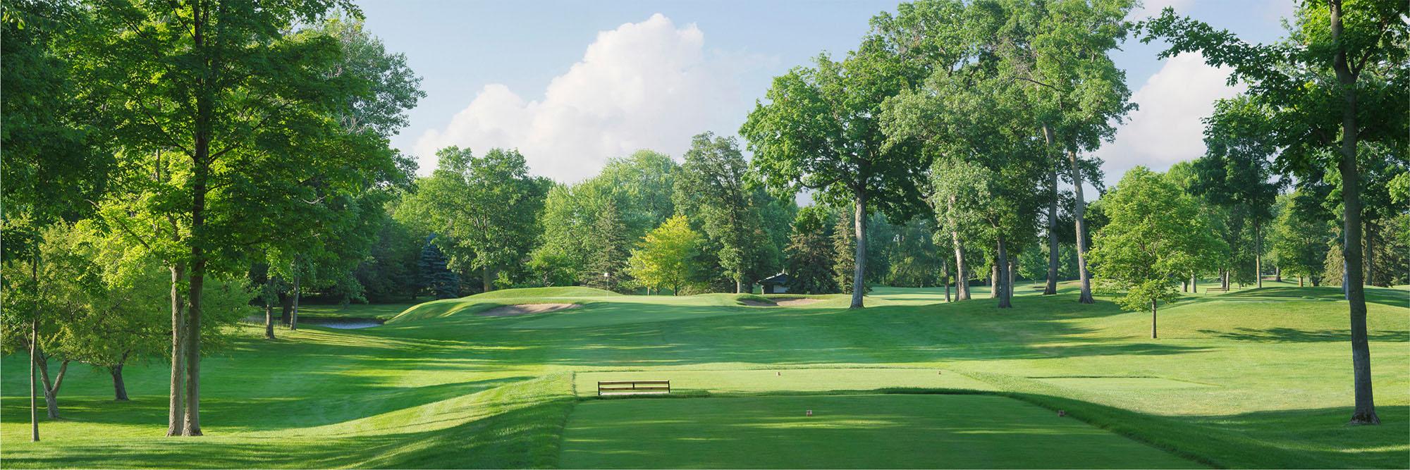 Golf Course Image - Hazeltine No. 13