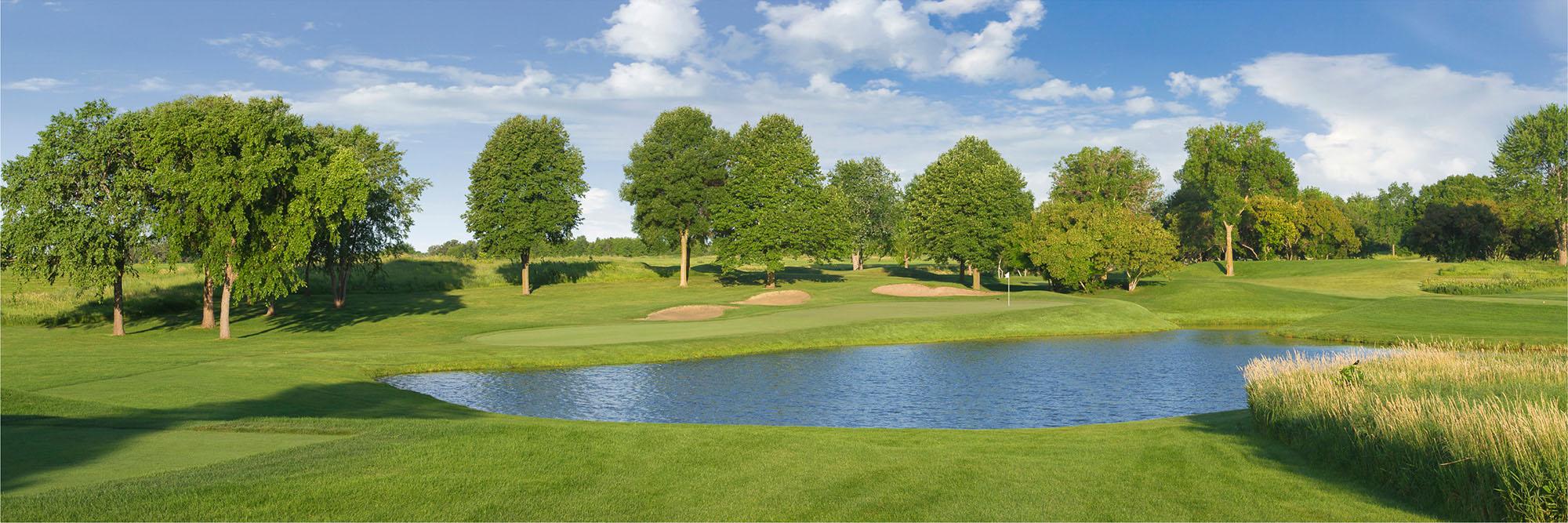 Golf Course Image - Hazeltine No. 8