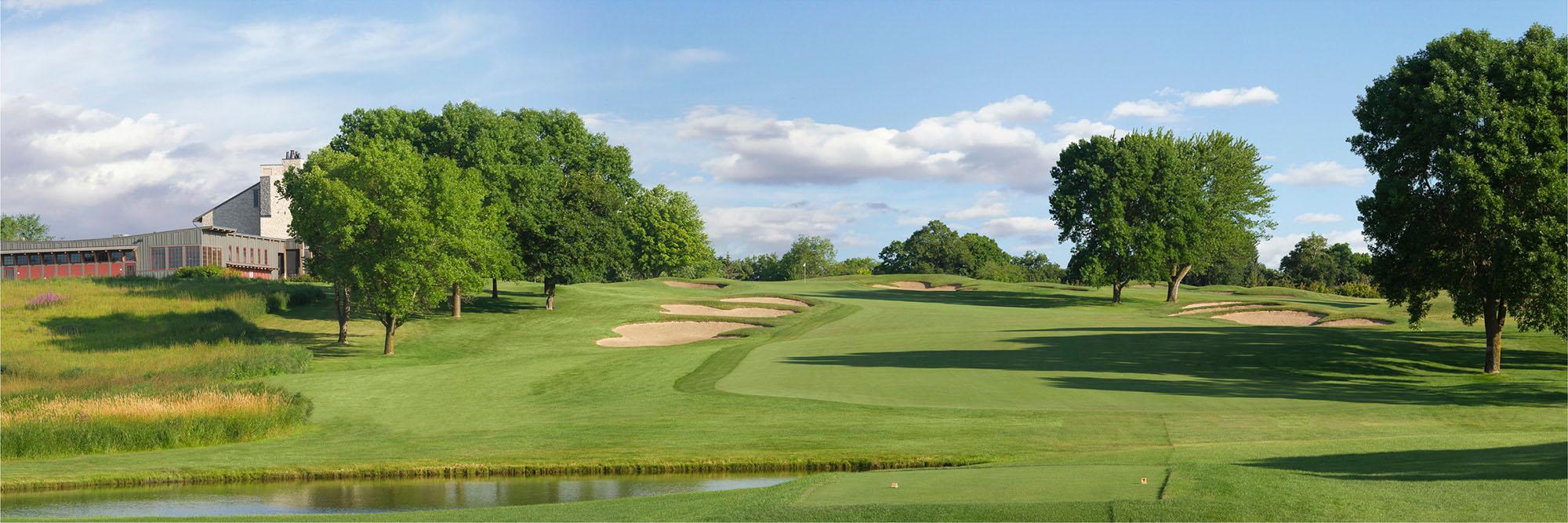 Golf Course Image - Hazeltine No. 9