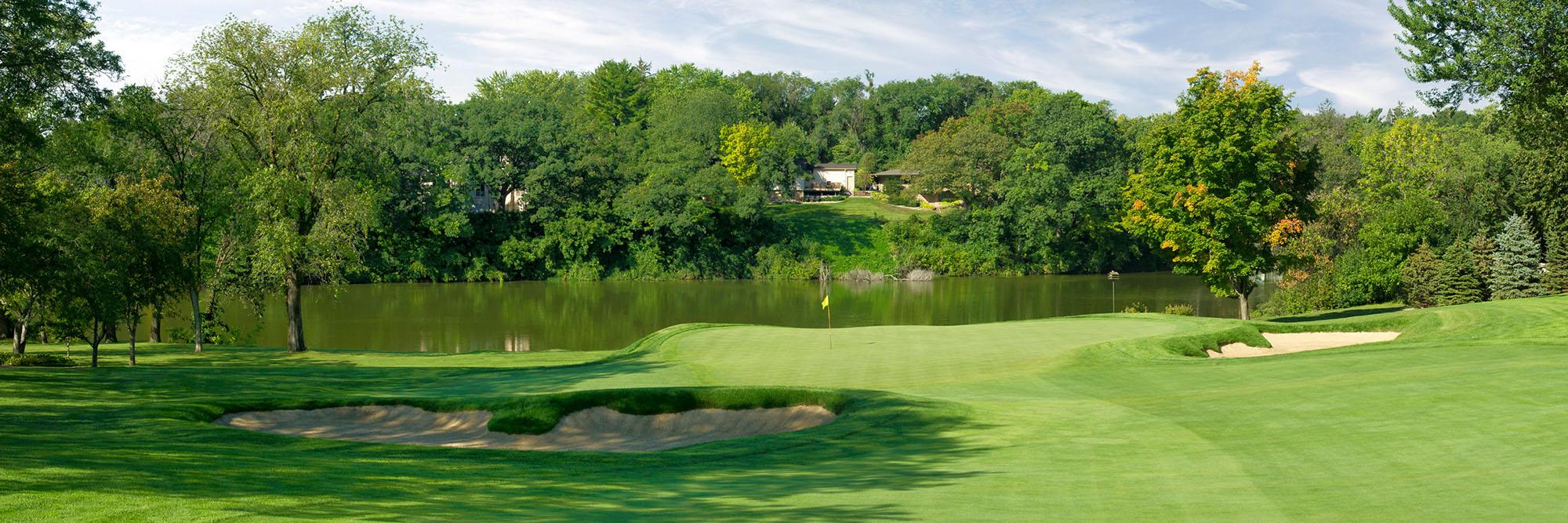 Golf Course Image - Interlachen No. 13