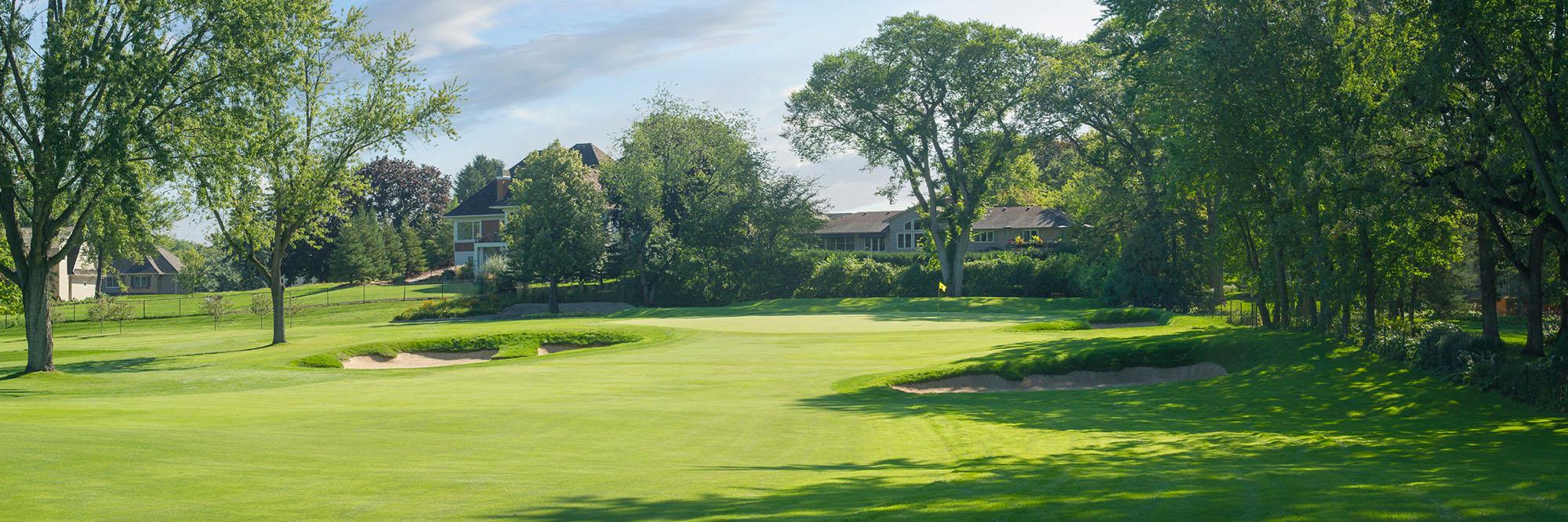 Golf Course Image - Interlachen No. 14
