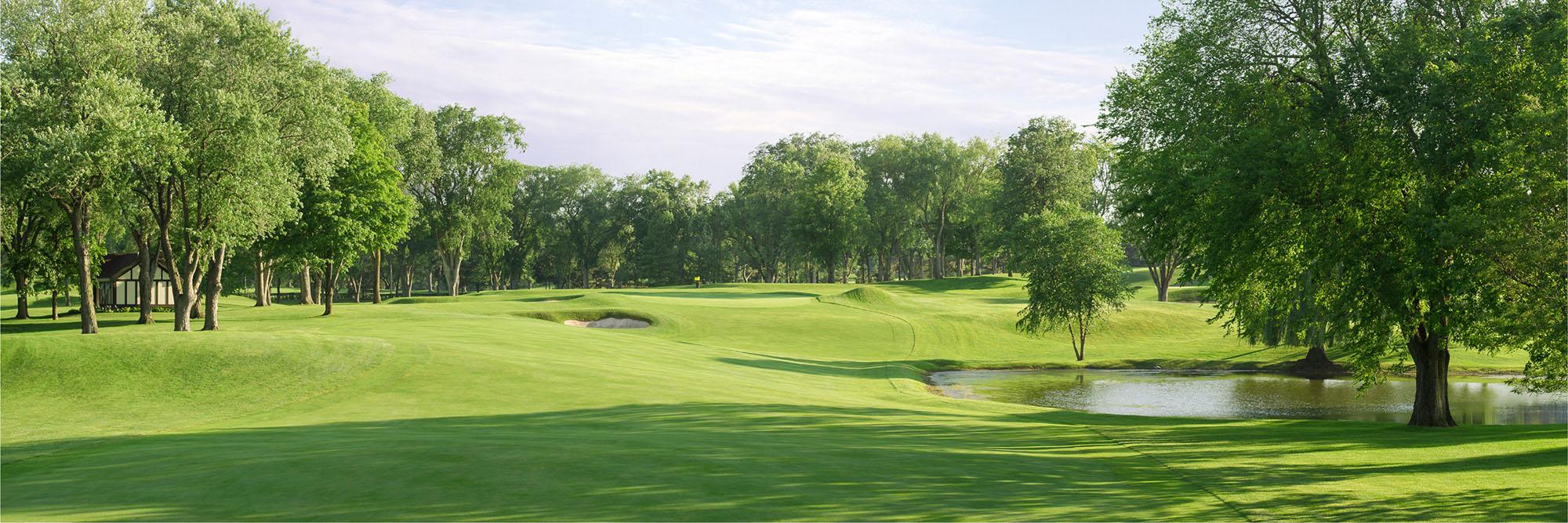 Golf Course Image - Interlachen No. 4