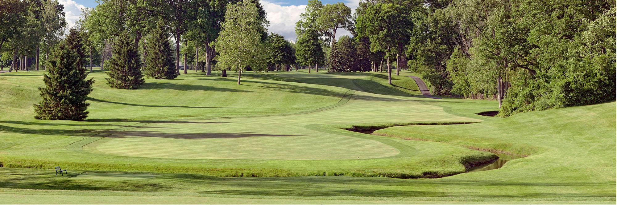 Golf Course Image - Inverness Club No. 7