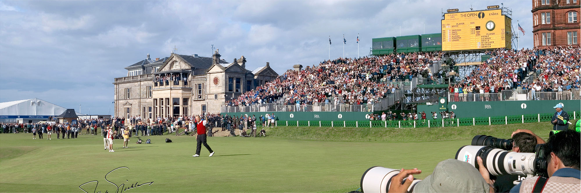 Golf Course Image - Jack Nicklaus British Open No 18