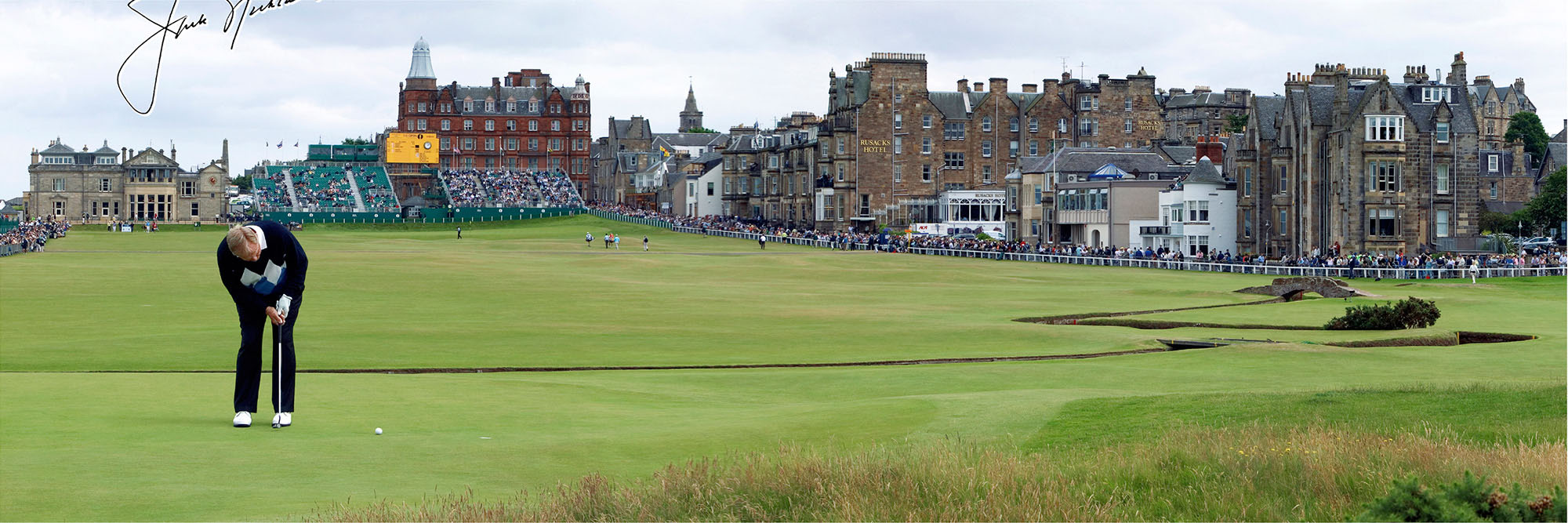 Golf Course Image - Jack Nicklaus British Open No 1