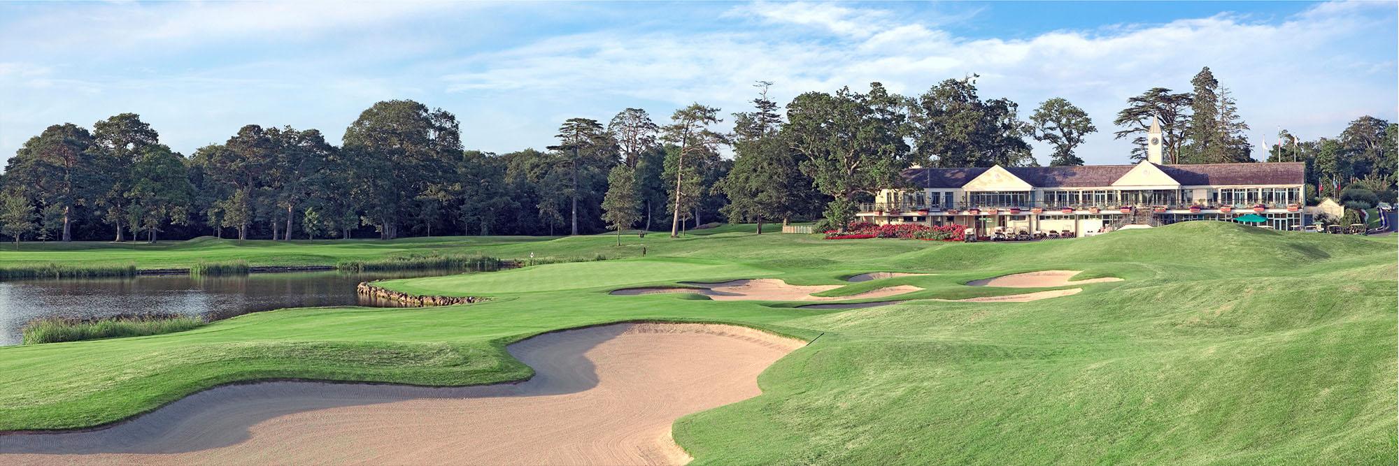 Golf Course Image - K Club No. 18