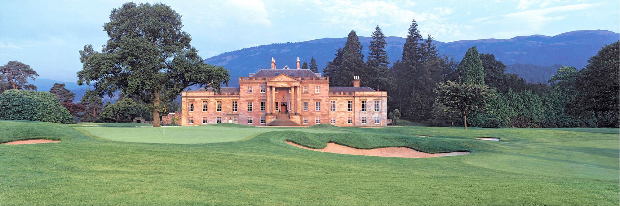 Golf Course Image - Loch Lomond No. 8