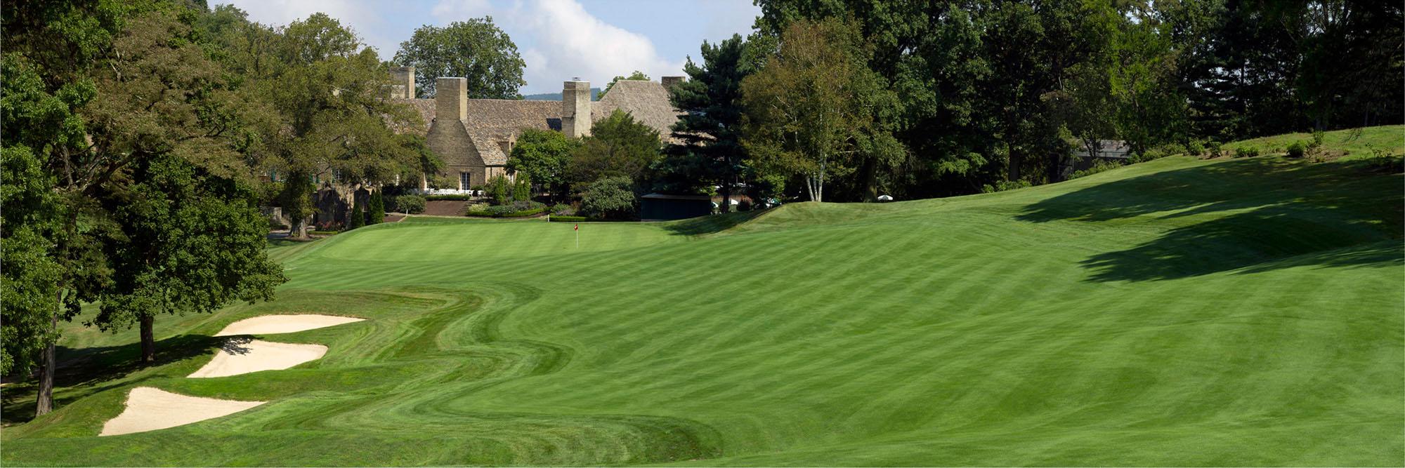 Golf Course Image - Longue Vue Club No. 18
