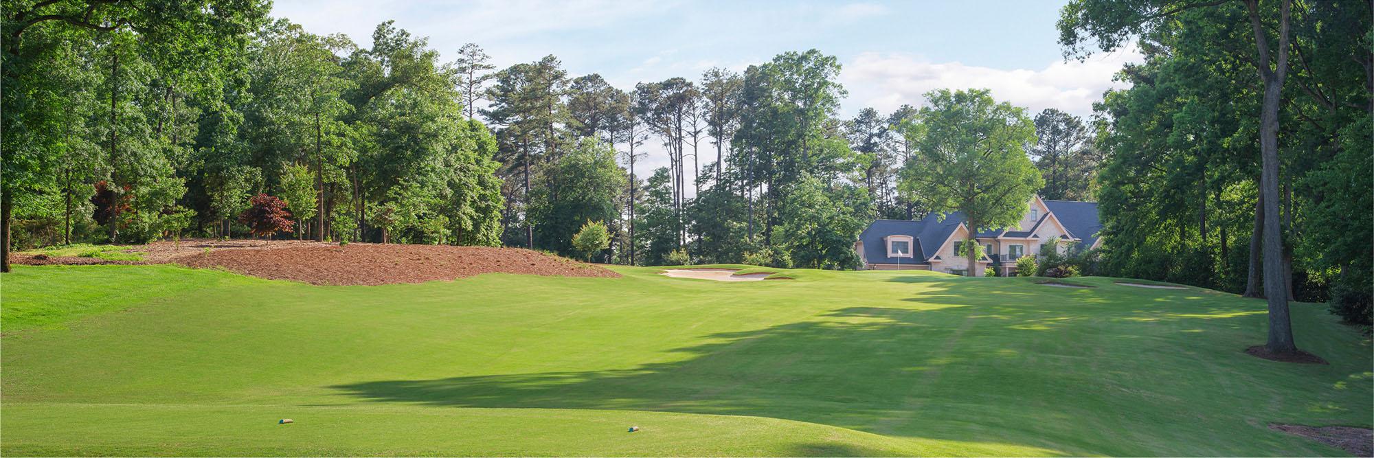 Golf Course Image - MacGregor Downs No. 8