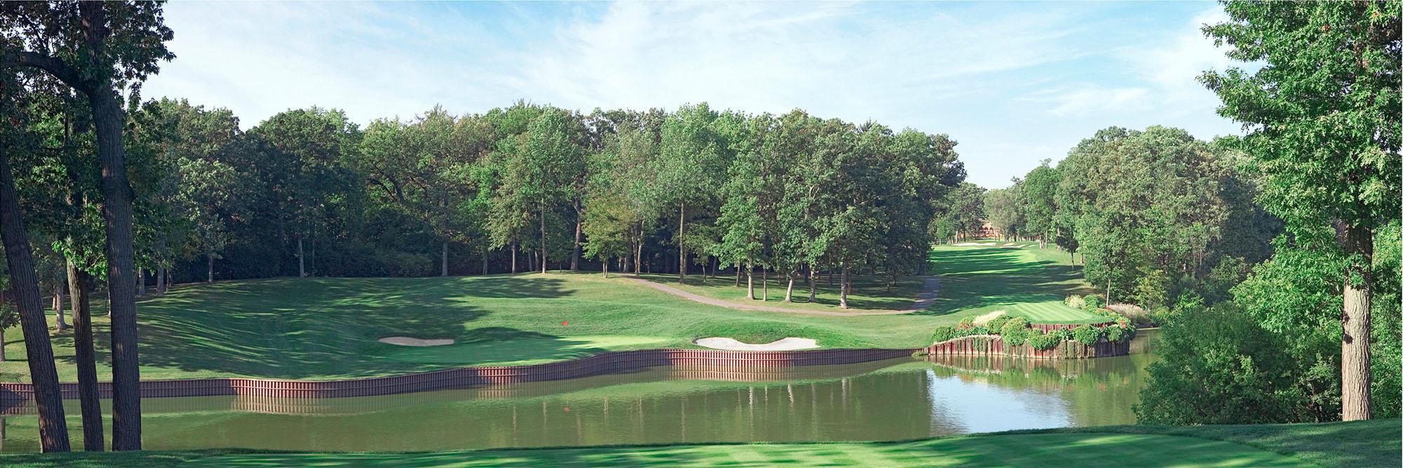 Golf Course Image - Medinah 3 No. 17