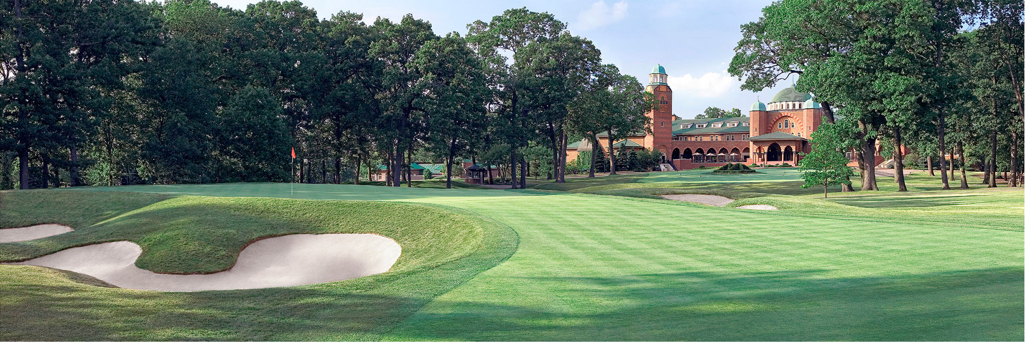 Golf Course Image - Medinah 3 No. 18