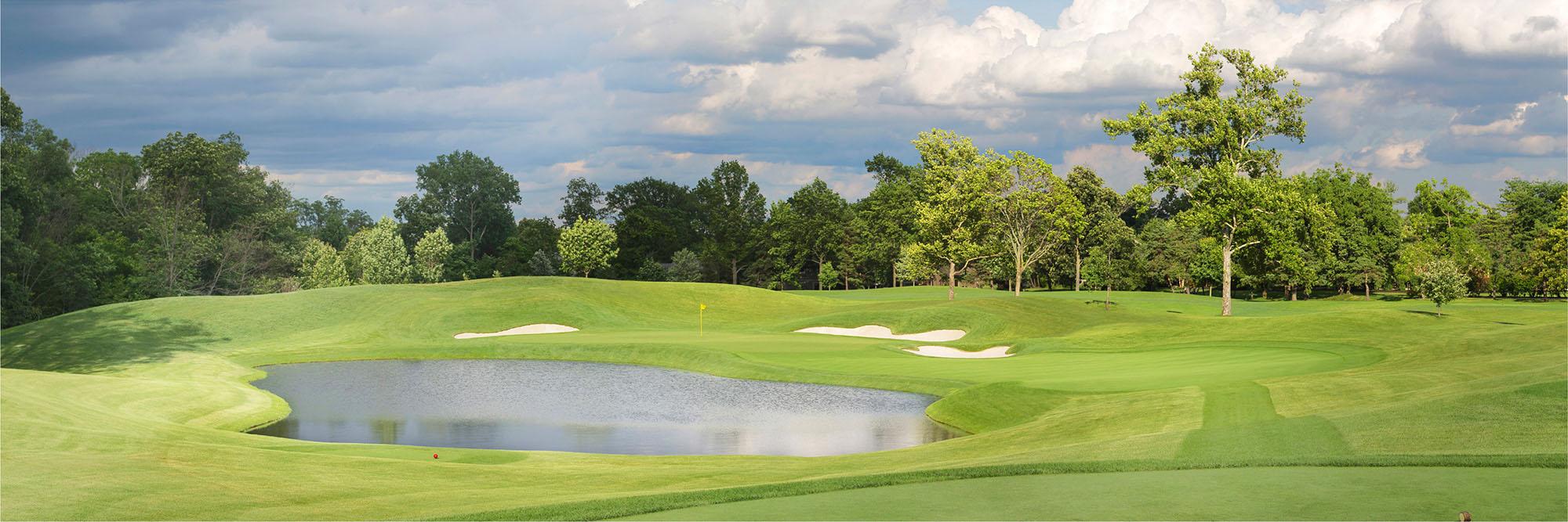 Golf Course Image - Muirfield Village No. 16