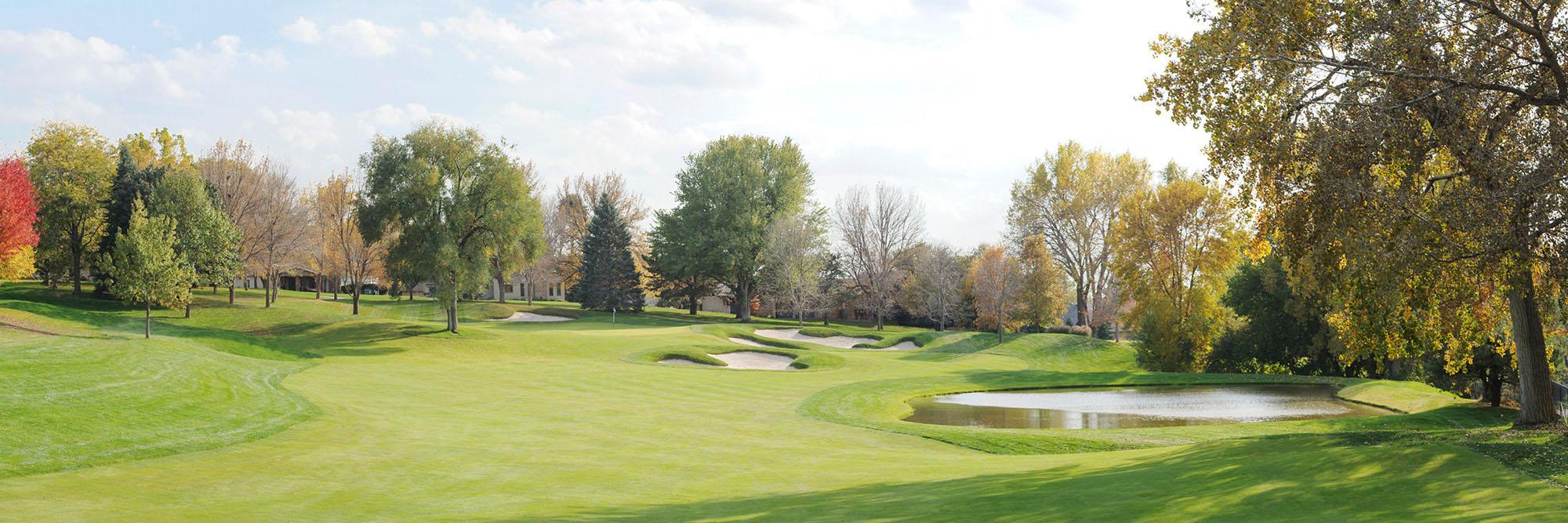 Golf Course Image - Oak Hill No. 8