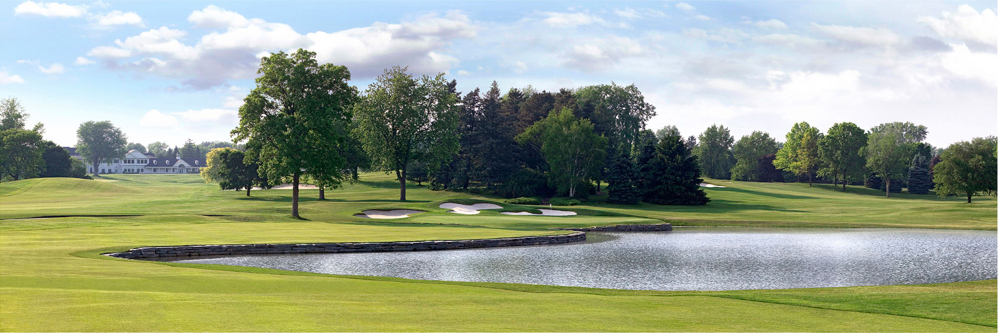 Golf Course Image - Oakland Hills No. 16