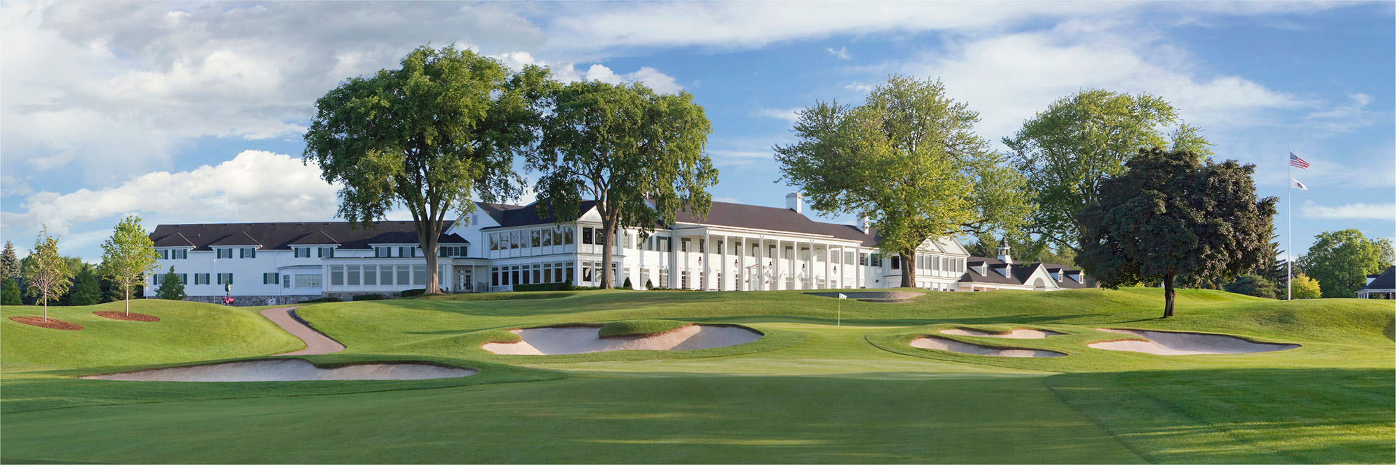 Golf Course Image - Oakland Hills No. 18