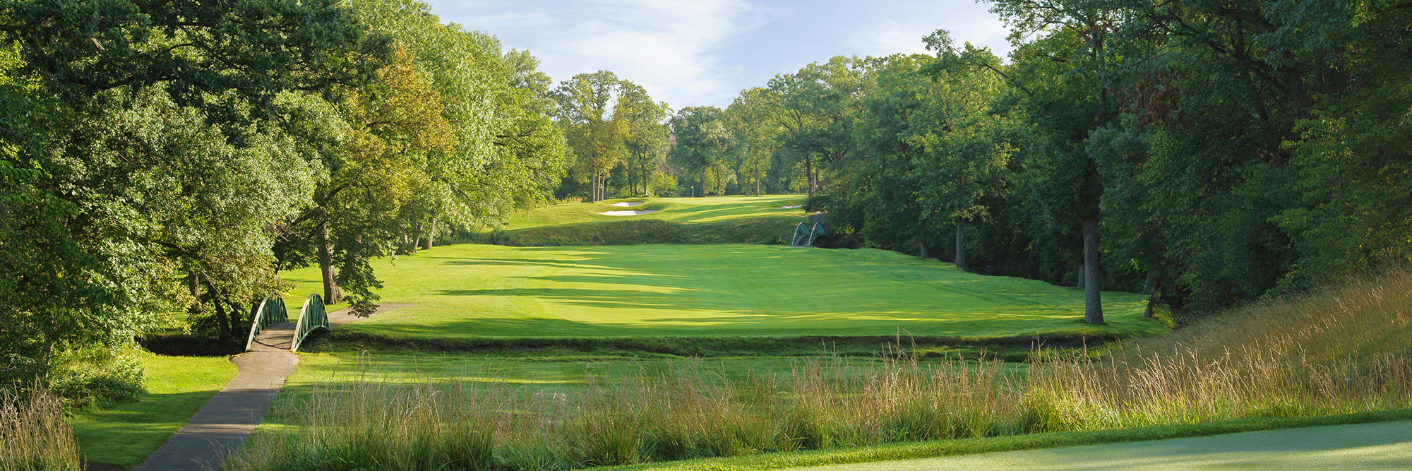 Golf Course Image - Olympia Fields North No. 14