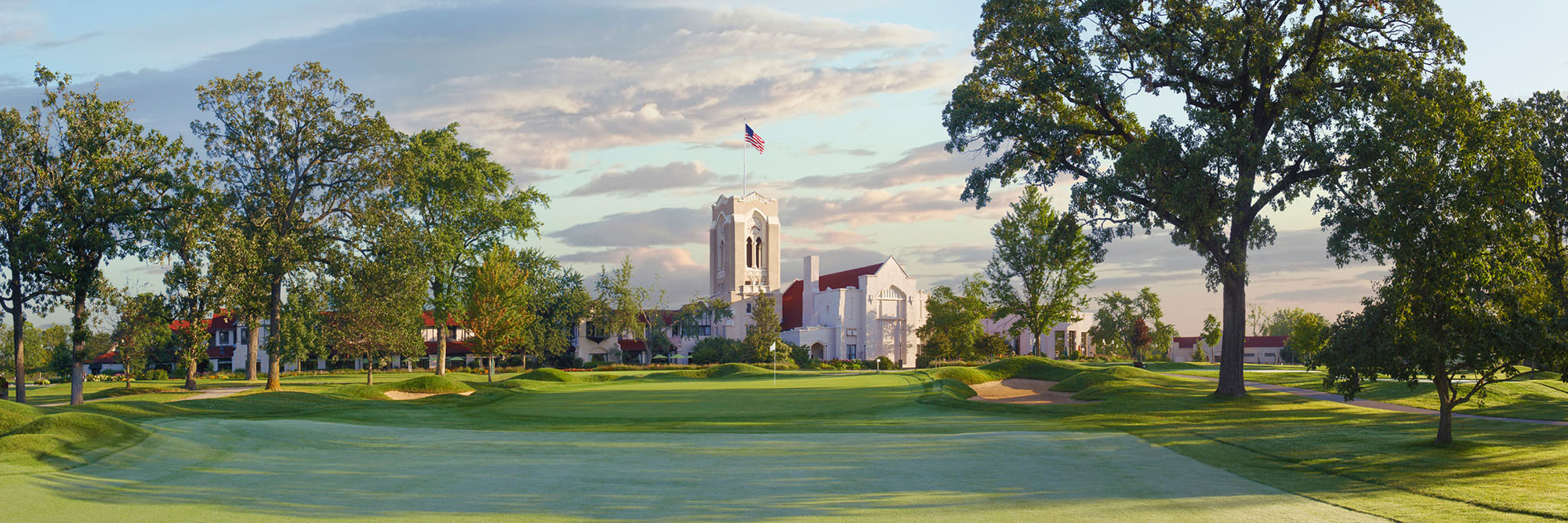 Golf Course Image - Olympia Fields South No. 18