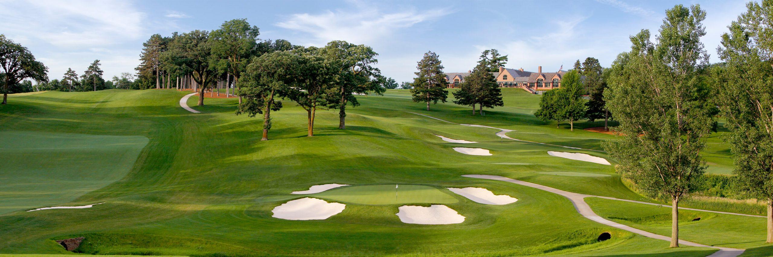 Golf Course Image - Omaha Country Club No. 11