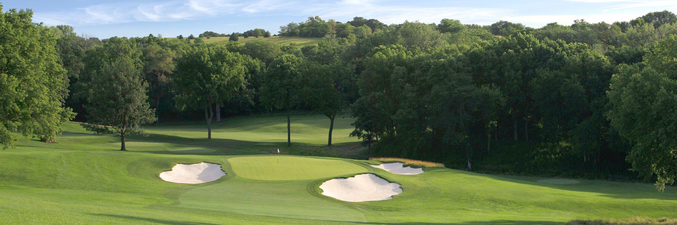 Golf Course Image - Omaha Country Club No. 15
