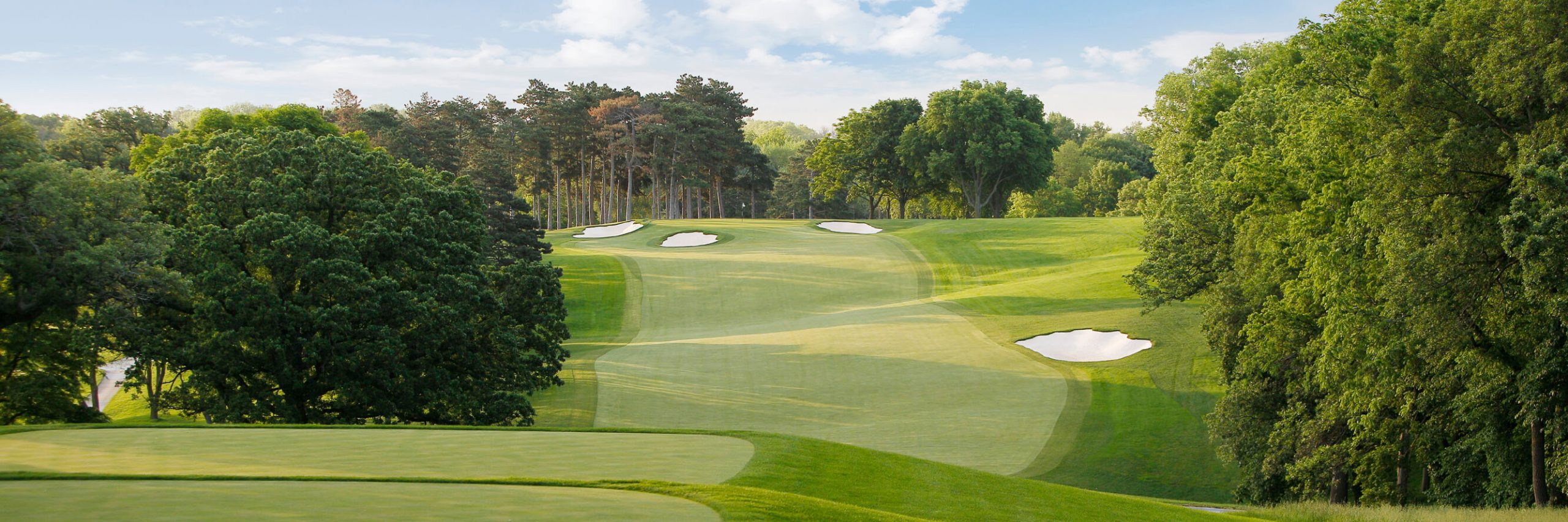 Golf Course Image - Omaha Country Club No. 18