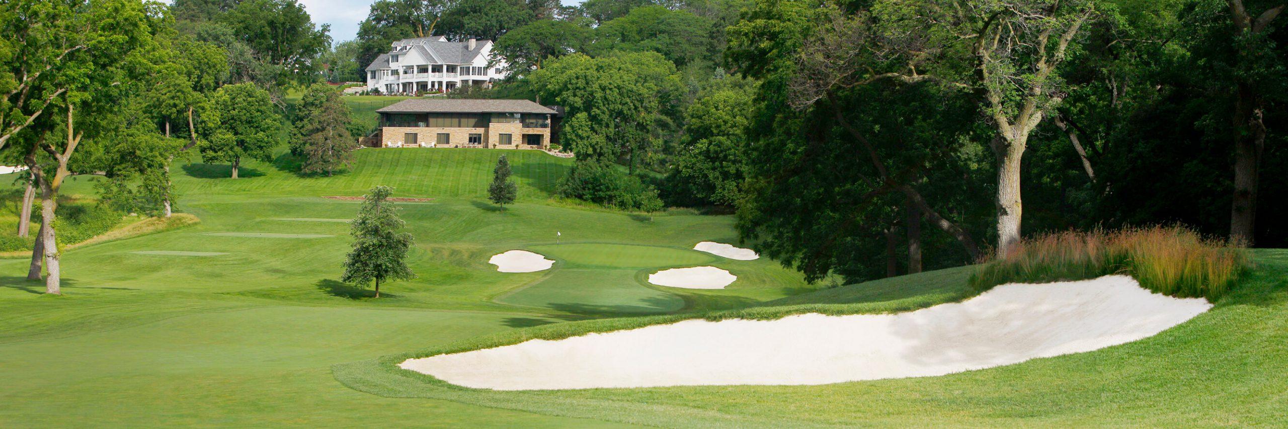 Golf Course Image - Omaha Country Club No. 6