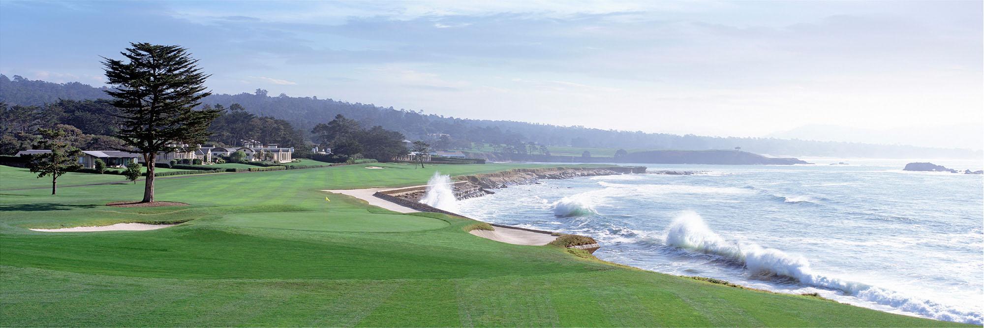 Golf Course Image - Pebble Beach No. 18