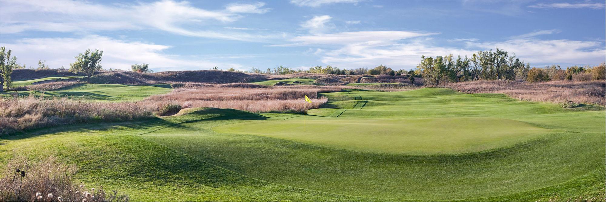 Golf Course Image - Prairie Dunes Country Club No. 9