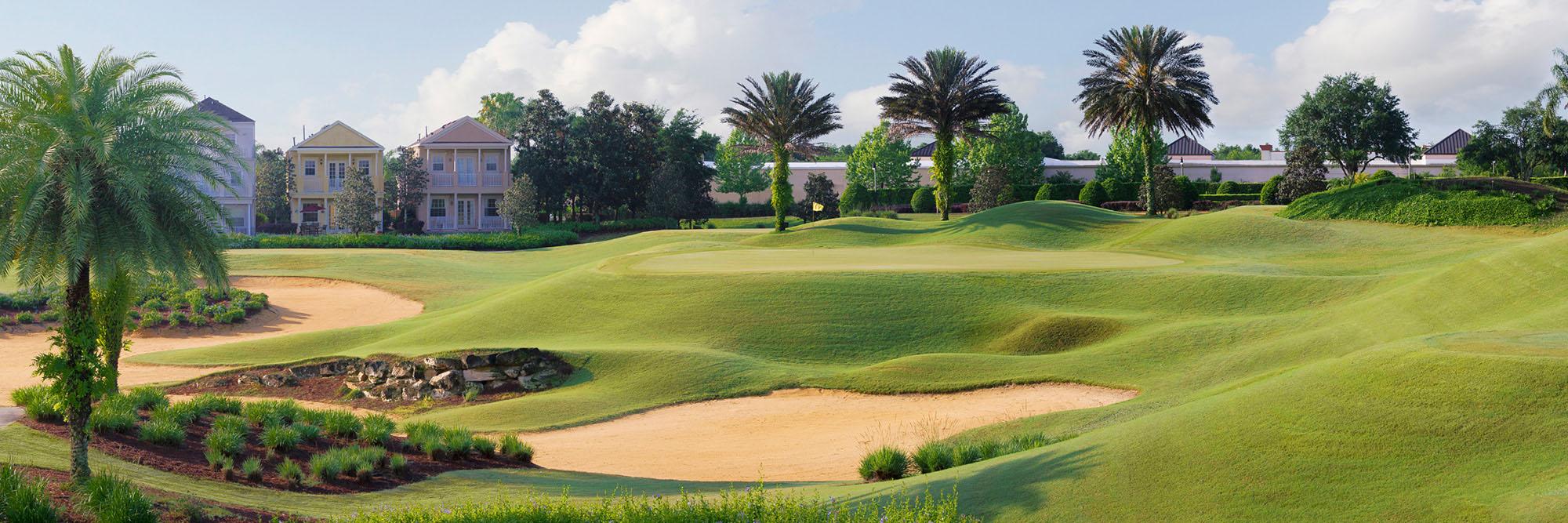 Golf Course Image - Reunion Resort Palmer No. 16
