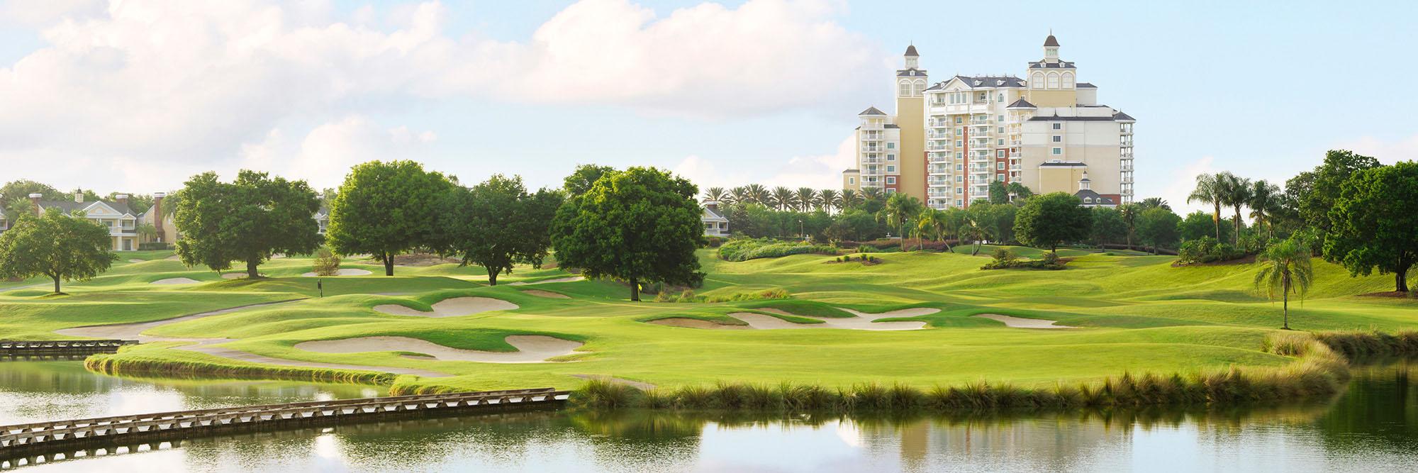 Golf Course Image - Reunion Resort Palmer No. 7