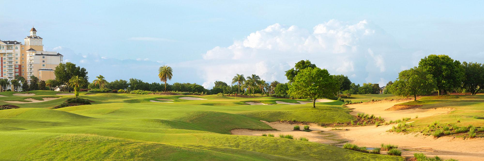 Golf Course Image - Reunion Resort Palmer No. 9