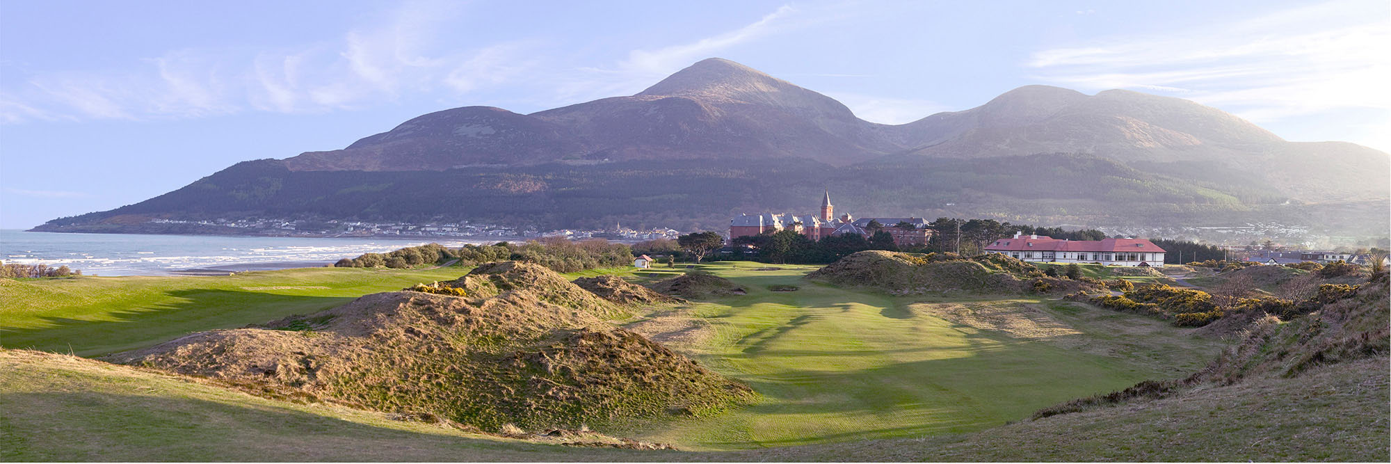 Golf Course Image - Royal County Down No. 9