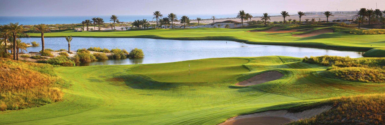 Golf Course Image - Saadiyat Beach Golf Club No. 9