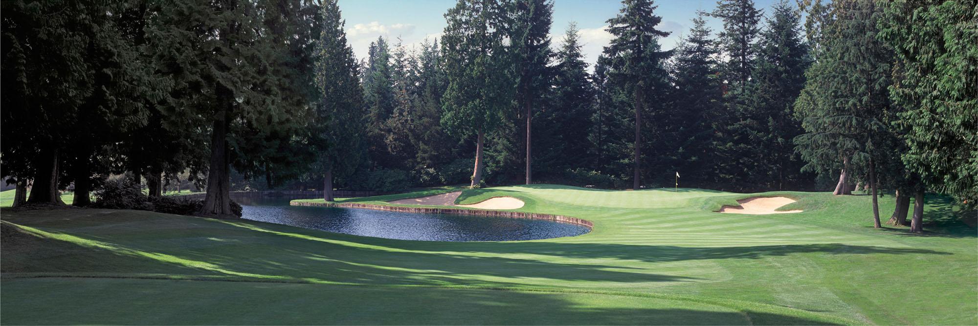 Golf Course Image - Sahalee-South No. 9
