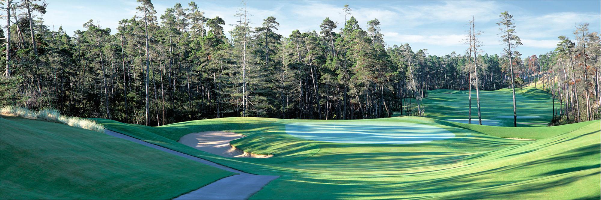 Golf Course Image - Sandpines No. 8