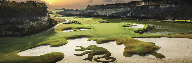 Golf Course Image - Sandy Lane Golf Club Green Monkey No. 16
