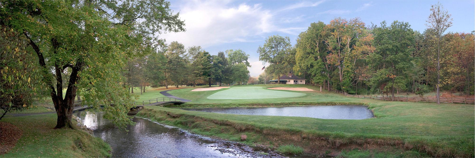 Golf Course Image - Saucon Valley Grace No. 14