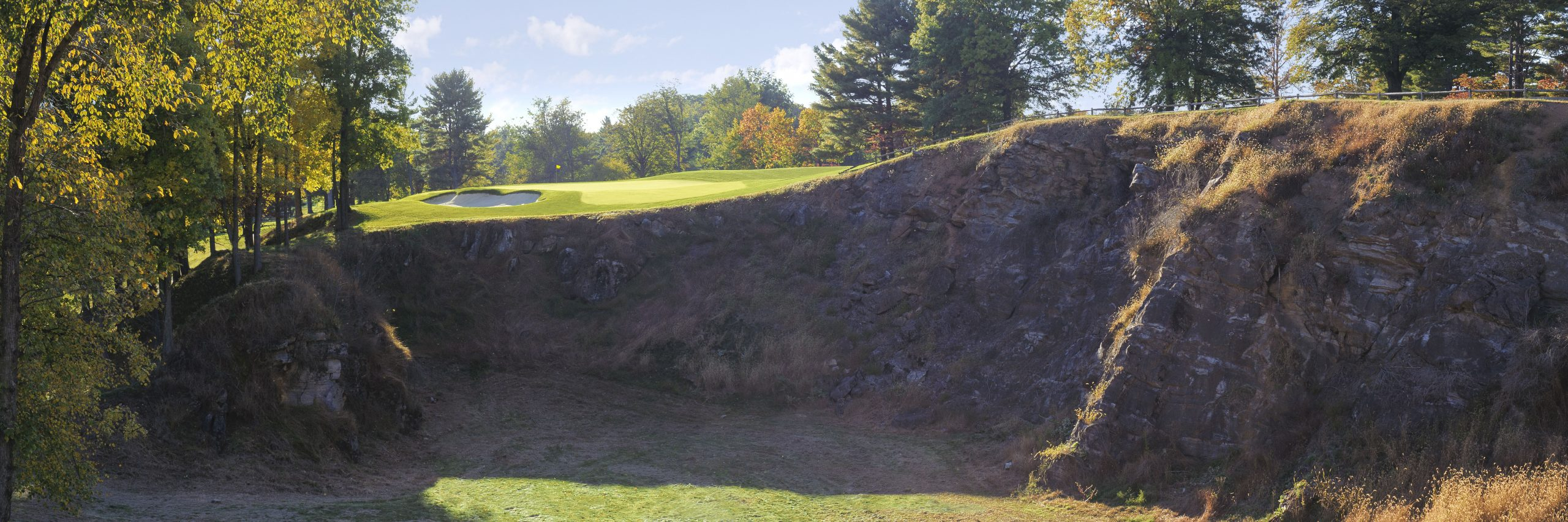 Golf Course Image - Saucon Valley Weyhill No. 14 (Fall)