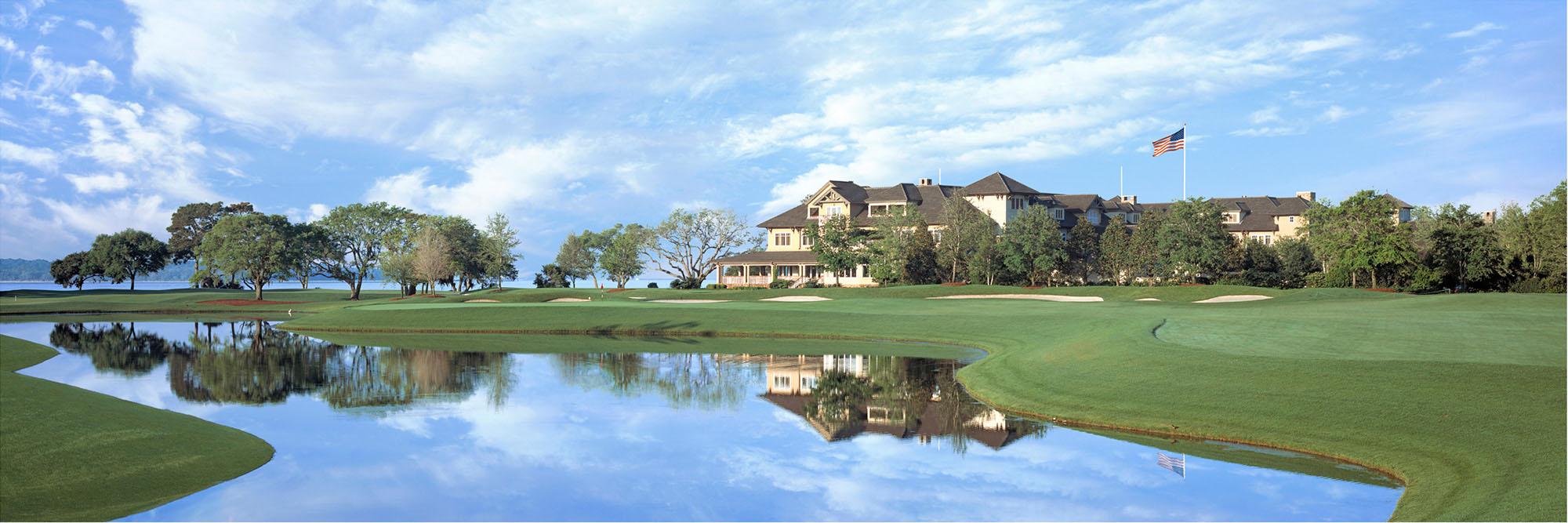 Golf Course Image - Sea Island Plantation No. 18