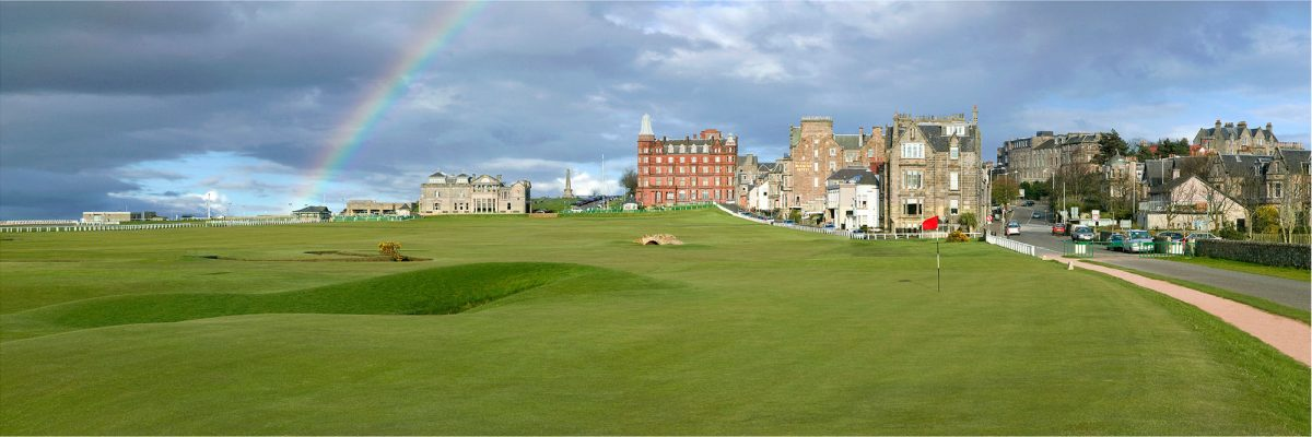 St Andrews No. 17 (Rainbow)