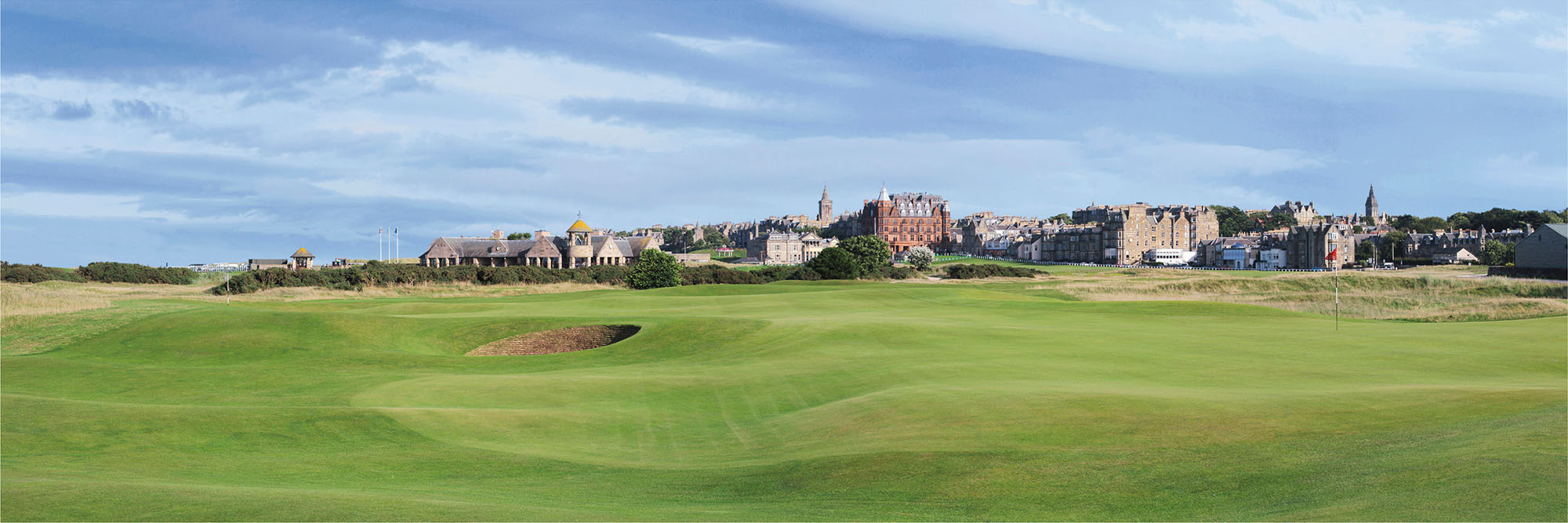 Golf Course Image - St Andrews Old Course No. 16