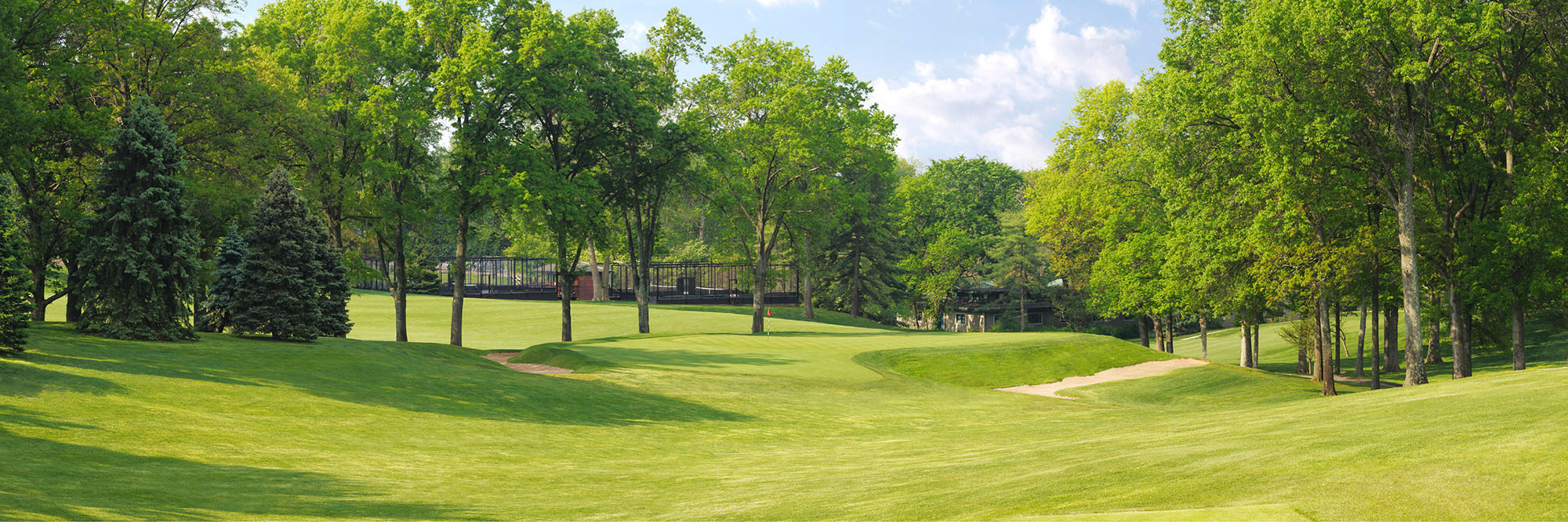 Golf Course Image - St. Louis Country Club No. 16