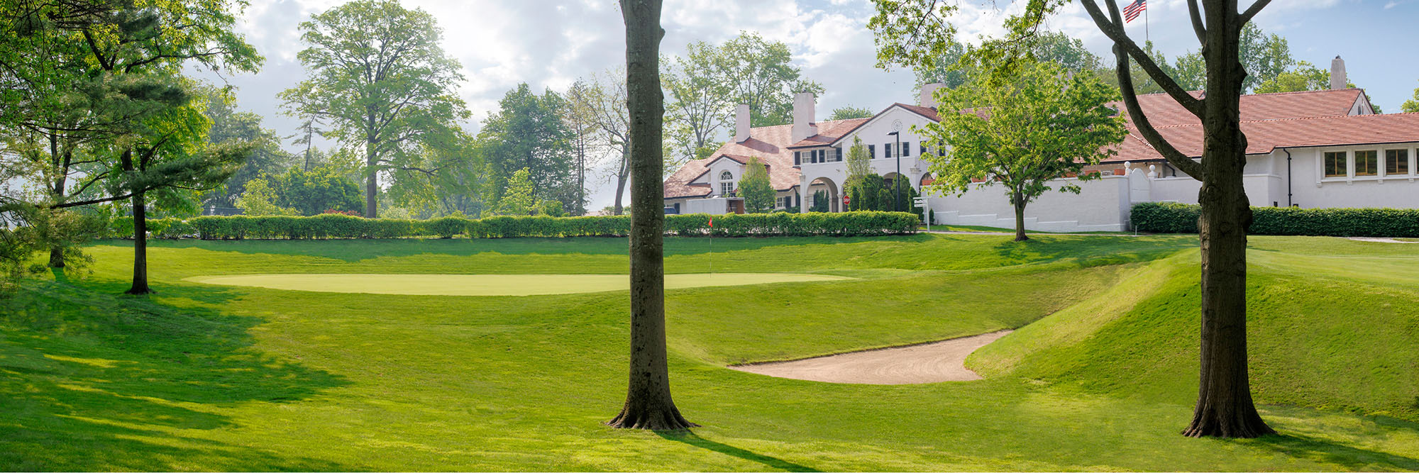 Golf Course Image - St. Louis Country Club No. 18