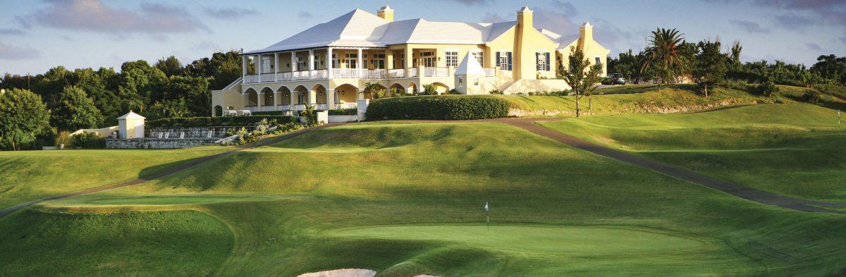 Tuckers Point Golf Club No. 18