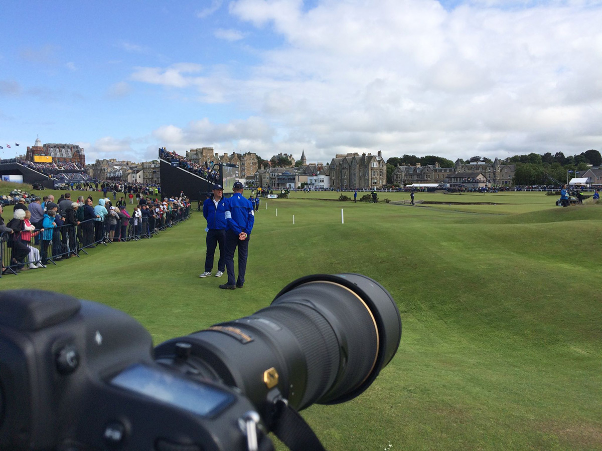 Tom Watson - Stonehouse Golf - Dan Murphy Photographs