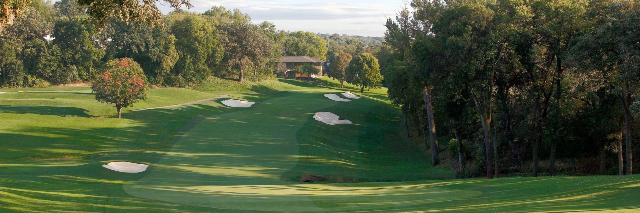 Golf Course Image - Omaha Country Club No. 10B
