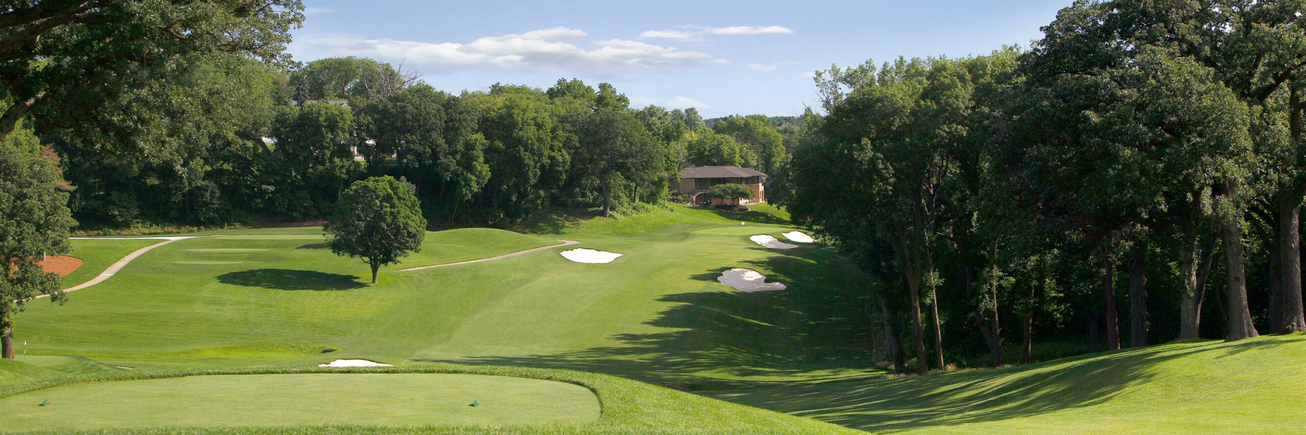Golf Course Image - Omaha Country Club No. 10