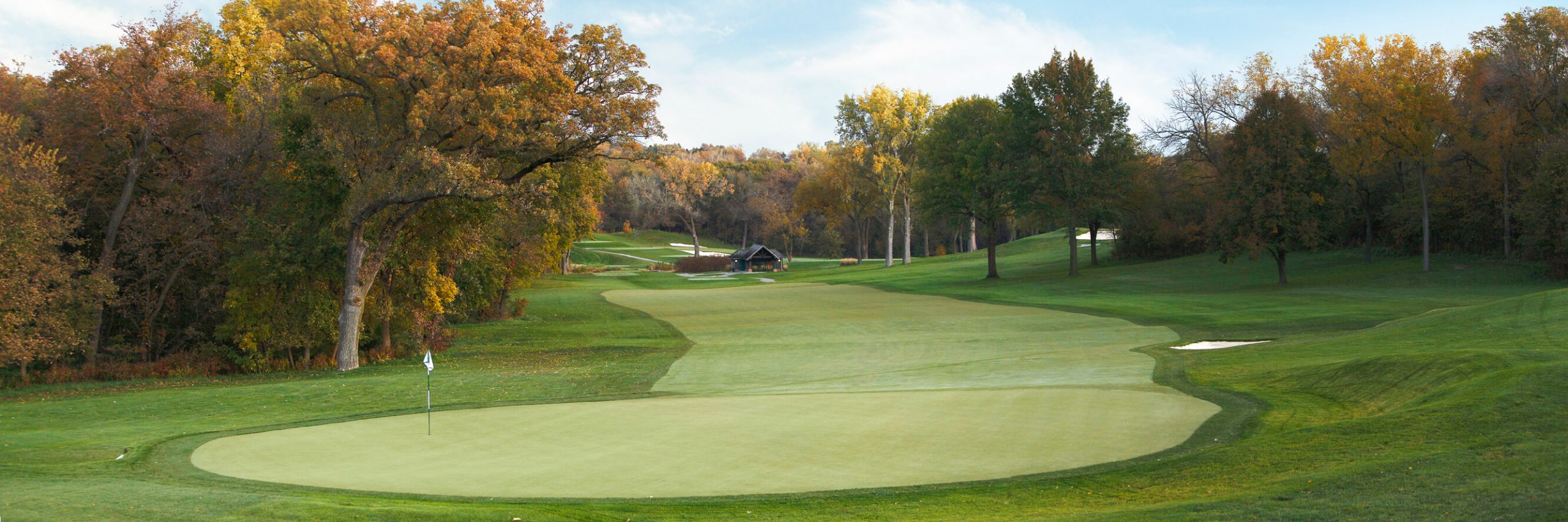 Golf Course Image - Omaha Country Club No. 8
